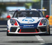 Atlantic Motorsport presents the new Teamspeak Porsche 911 GT3 CUP for rfactor2