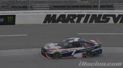 Mario Rocha finish P7 on the Monster Energy NASCAR CUP SERIES S4 at Martinsville