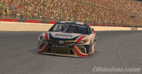 Mario Rocha finish P5 on the Monster Energy NASCAR CUP SERIES S4