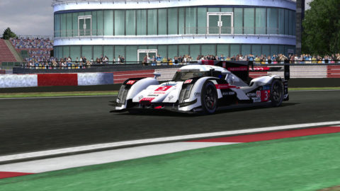 Alison Valassa logged four laps at the front of the WEP2 class in a fourth-place run in Silverstone 2011 Multiclass