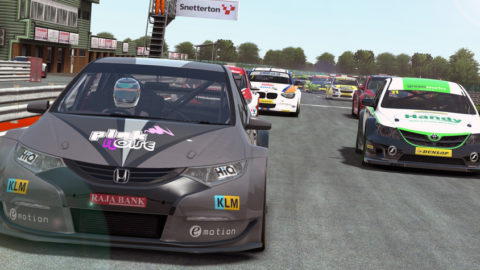 Belinic controls lead from start to finish in Snetterton BTCC // Events // Race2Play Multiplayer Online Racing
