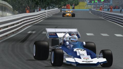 Luis Almeida took 5th place in Monaco '79 F1'71 // Race2Play