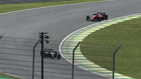 Antonio Castagna won third place in Interlagos FV12