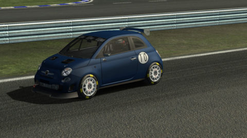 Luis Almeida finished 5th place in EuroRing Abarth500