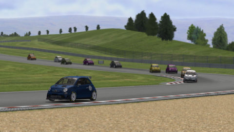 Nuno Gaiteira finished 9th in Autodrom Most – GP Abarth500 // Race2Play