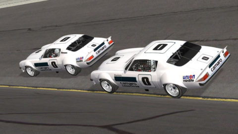 Joao Botelho de Sousa finished 6th place in Jacksonville Superspeedway IROC75