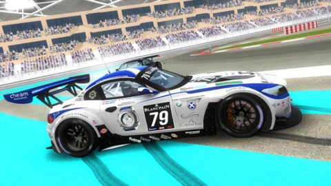 Martin Buchan finish fifth place in the Abu Dhabi // Race2Play