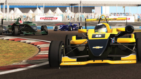 Gino Bardelli captured sixth place in Round 3 of the Paddocksim Formula 3 International Weekends series // Race2Play Multiplayer Online Racing