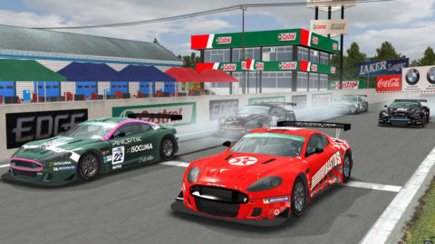 Martin Buchan controls lead from start to finish in Mosport 2012 GT3 // Race2Play