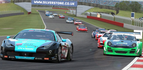 Marcelo Aiello won 14th place in the Silverstone GT Layout FIA GT3