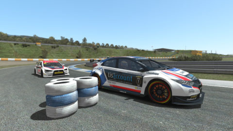 Harris Muhammad captured second place in the Portugal – GT BTCC // Race2Play