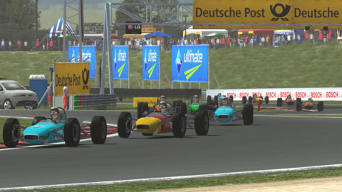 Michele Boffelli started on the pole and led every lap on the way to a commanding victory in the Oschersleben @ Race2Play.com