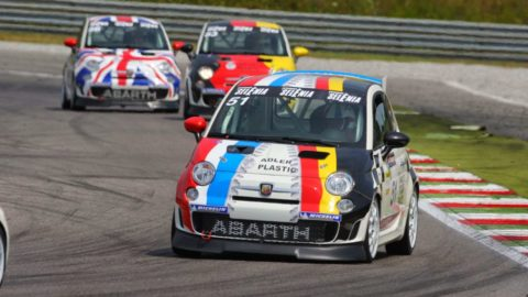 Lazaros Filippakos took second place in Autopolis GP Abarth500 // Race2Play