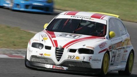 Luís Almeida captured third place in the Road Atlanta Alfa GT-R // Race2Play