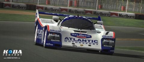 Atlantic Motorsport presents the new 7 Years Celebration Porsche 962 C