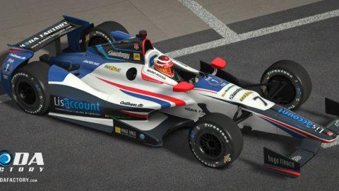 Atlantic Motorsport presents the new Atlantic Indy DW12 2016