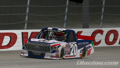 Jorge Cabrita finish P2 on the GANDER Outdoors Truck Series  S1 – Iowa Speedway