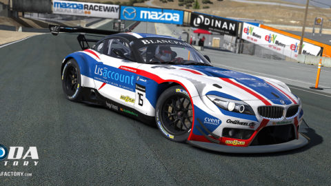 Martin Buchan finished second place in the Barcelona Catalunya Multiclass @ Race2Play.com