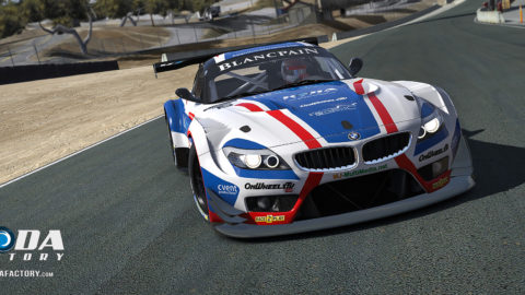 Martin Buchan won first place from the GTD field in the Laguna Seca – ALMS Multiclass @ Race2Play.com