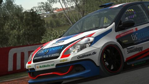 Alaoui Nassim WON the first place in the Braga Vasco Sameiro ClioCup @ Race2Play.com