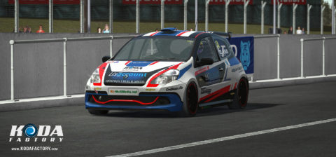 Luís Almeida won fourth place in the Braga Vasco Sameiro ClioCup @ Race2Play.com