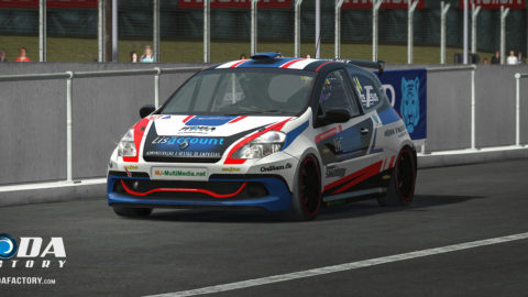 Luís Almeida won fourth place in the Braga Vasco Sameiro ClioCup @ Race2Play.com