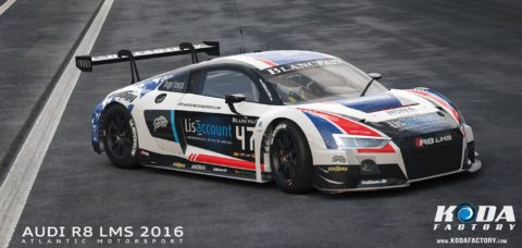 Atlantic Motorsport presents the new Audi R8 LMS