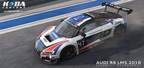 Csaba Lakó led the pack for seven laps in a run to second place in the Road One Int'l Audi Sport @ Race2Play.com