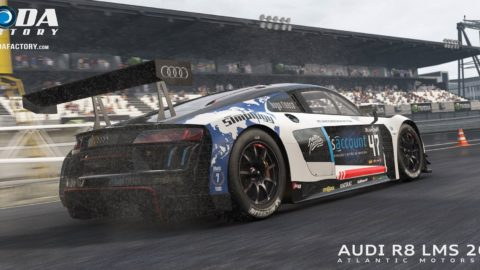 Csaba Lakó captured third place in the Oldring Grand Prix Audi Sport @ Race2Play.com