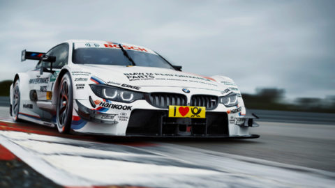 Tony Carl Christensen captured third place in the Norisring '08 DTM'12 // Race2Play