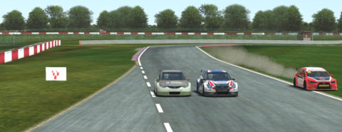 Paulo Braga captured ninth place in Round 3 of the DG BTCC CUP series // Race2Play