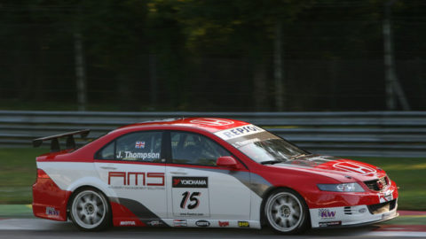 Nicola Guarini took second place in Zandvoort WTC '07 // Race2Play