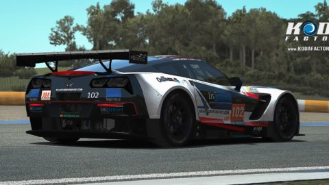 Ze Jesus captured sixth place in the EGT class in the 1.5 Hours of Spa @ Race2Play.com