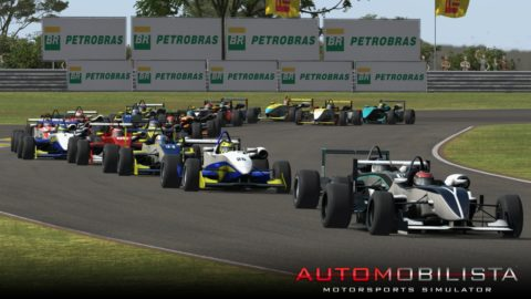Martin Vindis held the lead for seven laps in a run to first place in the Taruma Formula 3 // Race2Play