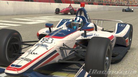 Mario Rocha finish P5 on the NTT INDYCAR Series S1 – Atlanta Motor Speedway