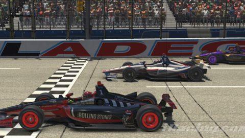 Mario Rocha finish P2 (at 0:024s) on the NTT INDYCAR Series S1 – Talladega Superspeedway