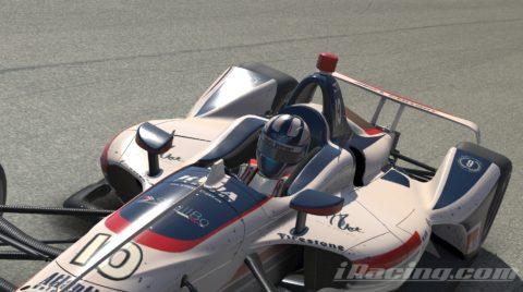 Mario Rocha finish P9 on the NTT INDYCAR Series S1 – Las Vegas Motor Speedway