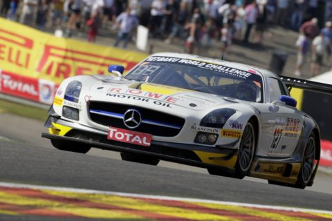 Alaoui Nassim started on the pole and led every lap on the way to a commanding victory in the Spa BlancPain @ Race2Play.com