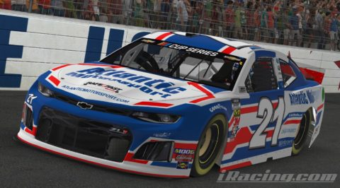 Mario Rocha finish P16 on the Monster Energy NASCAR CUP SERIES S1 – Charlotte Motor Speedway
