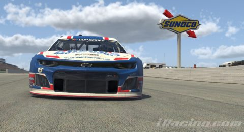 Mario Rocha finish P4 on the Monster Energy NASCAR CUP SERIES S1 – Pocono Raceway