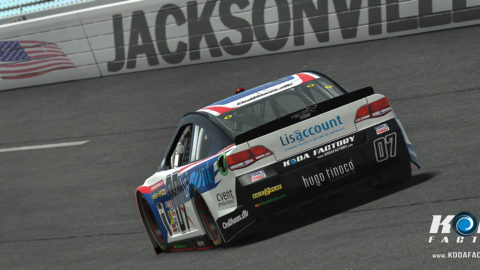 April Dillon leads most laps for win in Jacksonvillie Superspeedway HDISS // Race2Play