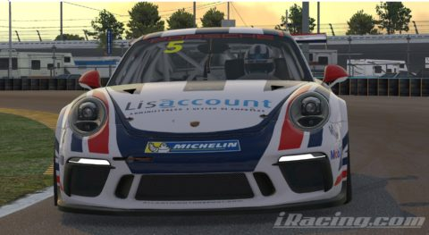 Jose Jesus finish P2 on the Porsche iRacing CUP Series S1 – Daytona