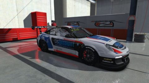 Paulo Braga made his 100th career start and took seventh place in Round 2 of the Porsche GT3 Challenge [Euro] series in Mountain Peak Road Course Flat6 // Race2Play