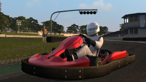 Gino Bardelli captured second place in the Interlagos Kart 2 Rental @ Race2Play.com
