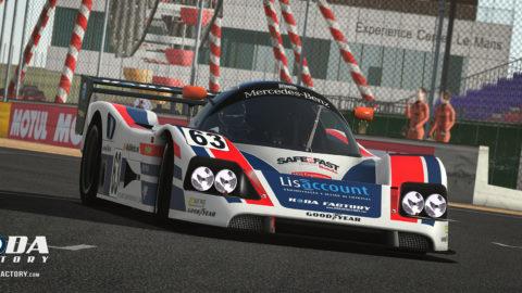 Atlantic Motorsport Mercedes C11 – Group C