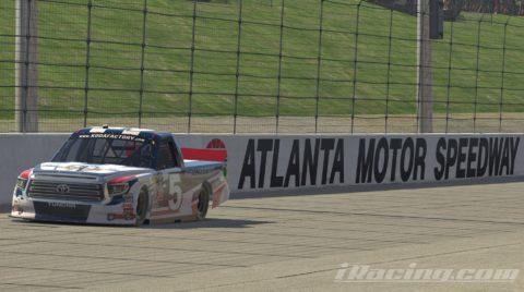 Mario Rocha finished P6 on the GANDER Outdoors Truck Series S1 – Atlanta Motor Speedway