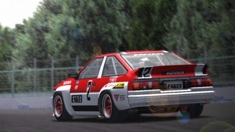Luís Almeida drove to a seventh-place finish in the Estoril '88 AE86 // Race2Play