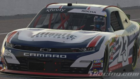 Mario Rocha finish P6 on the NASCAR XFINITY Series S1 – Talladega Superspeedway