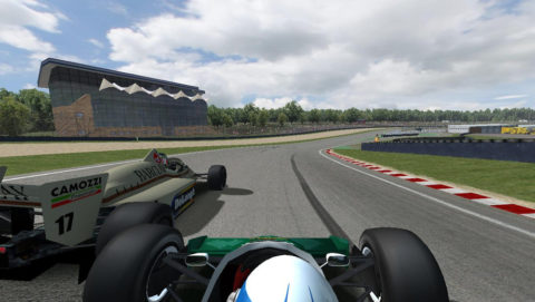Gino Bardelli took 11th place in Round 2 of the Terrible Turbos series in Brands Hatch F185 // Race2Play