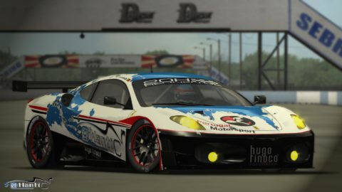 Alaoui Nassim controls lead every lap in Circuit of the Americas to finished first place @ Race2Play.com